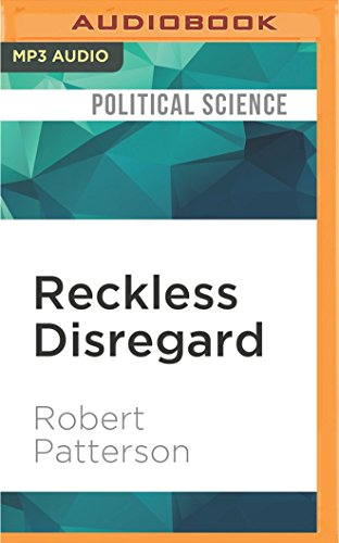 RECKLESS DISREGARD           M por Robert Patterson