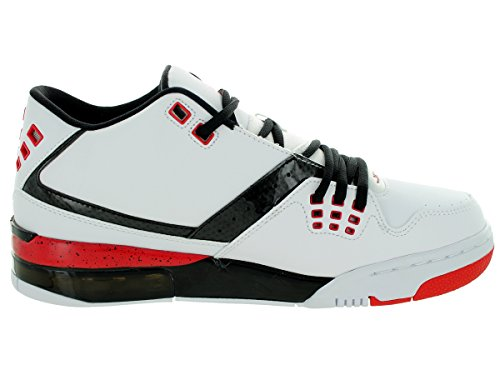Nike - Jordan Flight 23, Scarpe Da Basket da uomo WHITE/UNIVERSITY RED-BLACK