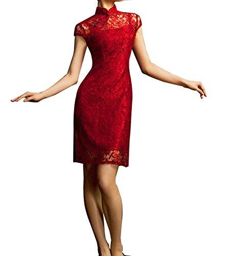 Chinesisches Kleid Qipao Modernes Schickes Cocktailkleid und Vintage Kleid #107 Größe 38 -...