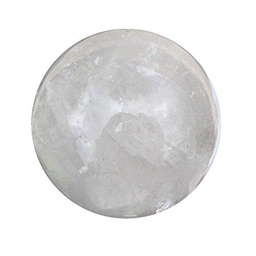 Rock Quarz Kristallkugel Wahrsager Füllpendel Fortune Globe Kugel 120mm 3kg CB3