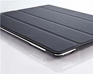 iPad 4 Hülle - VEO Ultra Dünnes Smart Cover mit Stand & Schlaf-Funktion für iPad 4. (Mit Retina), 3 & 2, SCHWARZ