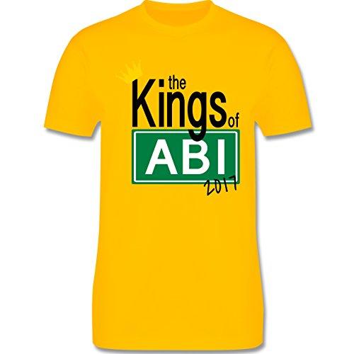 Abi & Abschluss - The Kings of Abi 2017 - Herren Premium T-Shirt Gelb