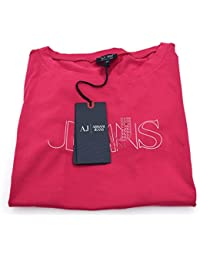 e07ee5f376a2 ... for Shoes   Bags   Handbags   Shoulder Bags   Armani Jeans. ARMANI JEANS  WOMAN CREW-NECK T-SHIRT FUXIA CODE C5H21