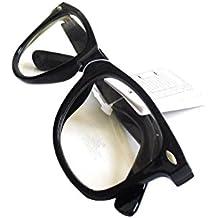 See Vision Nuevas: Gafas de Pasta Sin Graduar Unisex, varios Colores con Funda 48MM