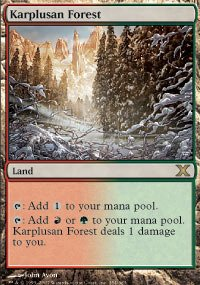 Magic: the Gathering - Karplusan Forest (354/383) - Tenth Edition by Magic: the Gathering