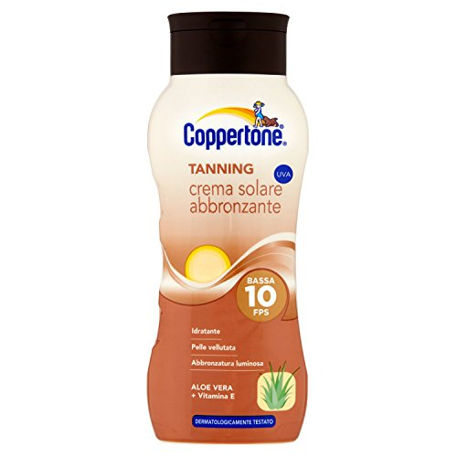 COPPERTONE Fp10 tanning abbronzante 150 ml. - Produits solaires