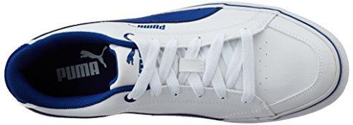 Puma - Chaussures , de sport - COURT POINT VULC Blanc avec du bleu