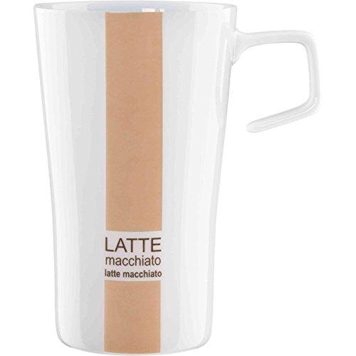 ASA Selection Al Bar Tasse Inscription Latte Macchiato Marron