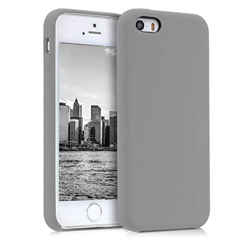 kwmobile Apple iPhone SE / 5 / 5S Hülle - Handyhülle für Apple iPhone SE / 5 / 5S - Handy Case in Taupe