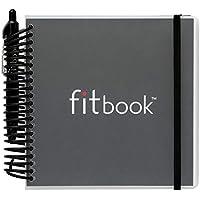 fitbook BLACK : deportes nutrición diario planificador Láminas y planes de ejercicio