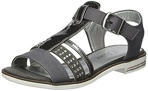 s.Oliver Mädchen 48220 T-Spange, Grau (Grey 200), 35 EU