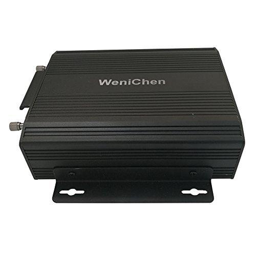 Wen&Cheng 4 Kanal Beweglicher HDD DVR Festplatten-Träger-Auto-Videogerät Rekorder mit Fernsteuerpult, Unterstützungs-Sd-Karte / HDD Hdd Digital Recorder