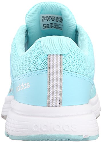 Adidas Neo Cloudfoam Vs Ville W Casual Sneaker, noir / métallique Argent / flapnk, 5 M Us Blue/Metallic Silver/Clear Onix Grey