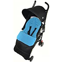 Footmuff/Cosy Toes Compatible with Joie Nitro Stroller LX Pushchair Ocean Blue