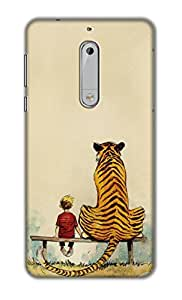 SWAGMYCASE Printed Back Cover for Nokia 5