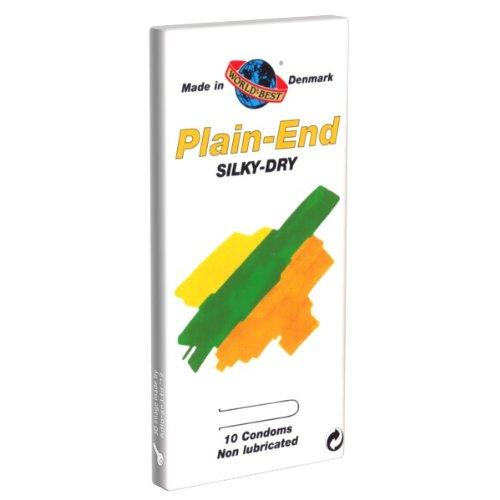 Plain End Silky Dry 10 Kondome
