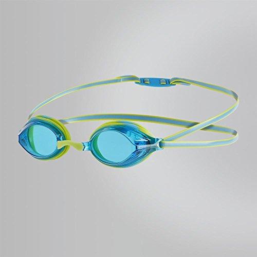 Speedo Kinder Vengeance Junior Goggles, Lime Punch/Japan Blue, One Size