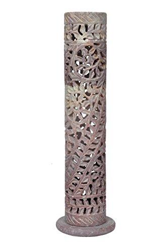 hashcart-hecho-a-mano-esteatita-t-titular-de-la-luz-con-tallado-de-flores-106inch