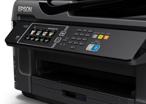 Epson WorkForce WF-7610DWF A3 Duplex Business Printer with Wi-Fi, Ethernet and A3 Double-Sided Printing - Black