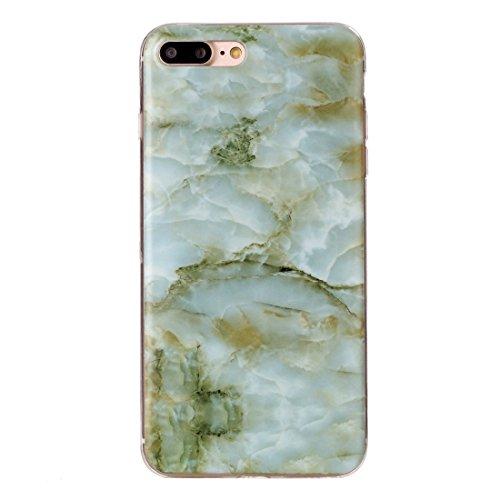 iPhone Case Cover Pour iPhone 7 Plus marron motif marbré Soft TPU étui de protection arrière ( SKU : Ip7p0826b ) Ip7p0826e