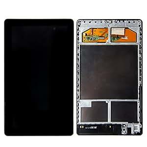 SKILIWAH®pour ASUS GOOGLE NEXUS 7 2e 2013 version Piece de remplacement LCD+VITRE TACTILE+SUPPORT