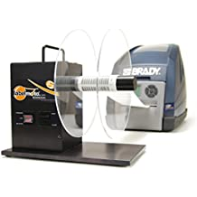 START International LR4500-EU Rebobinador Bidireccional de Etiquetas, Capacidad para Rollo de 251 mm y con un Ancho de Hasta 114 mm, Negro