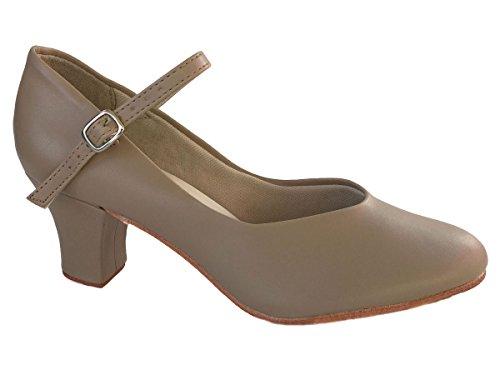 So Danca Chaussures de caractère avec talon de 5cm Hâlé