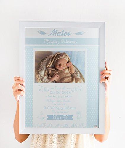 Mami me mima - Lámina Nacimiento Personalizada Todos