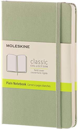 Moleskine Notizbuch, Pocket, A6, Blanko, Hard Cover, weidengrün Cover Willow