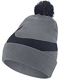 Nike , Bonnet , Homme Gris Bleu Taille Unique