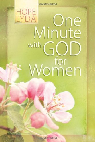 One Minute with God for Women Gift Edition by Hope Lyda (2011-02-01)