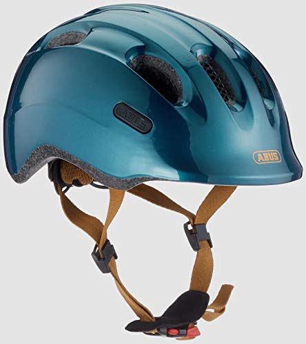 Abus Smiley 2.0, Unisex kinder Fahrradhelm,grün (royal green), M (50-55 cm)