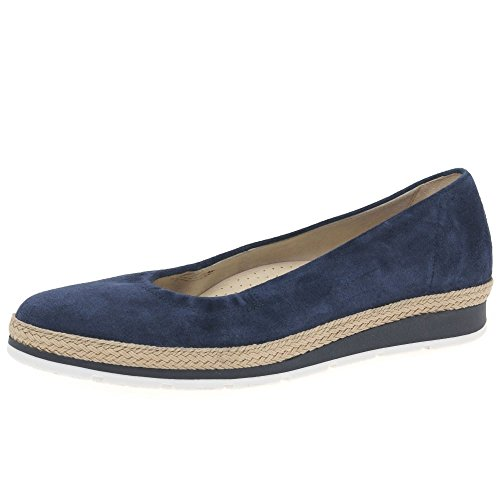Gabor Bridget Womens Casual Pompe 6 UK/ 39 EU River Suede
