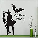 Happy Halloween Wandaufkleber Home Household Room Wandaufkleber Wandbild party Decor Aufkleber Removable 40x43cm