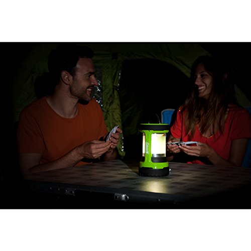 41O6nb7deDL. SS500  - Coleman Battery Lock Push Lantern 200 lumens Electric Lantern - Green