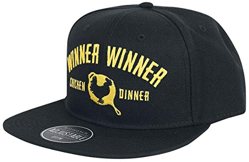 Playerunknown's Battlegrounds Winner Winner Gorra Negro