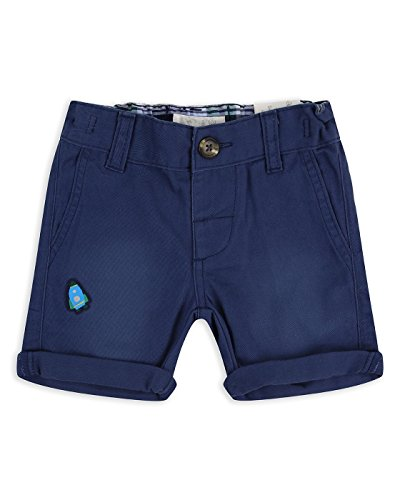 Drei-tasten-hose (The Essential One - Baby Kinder Jungen Shorts/Kurze Hose - Marineblau - 3-6m - EOT469)