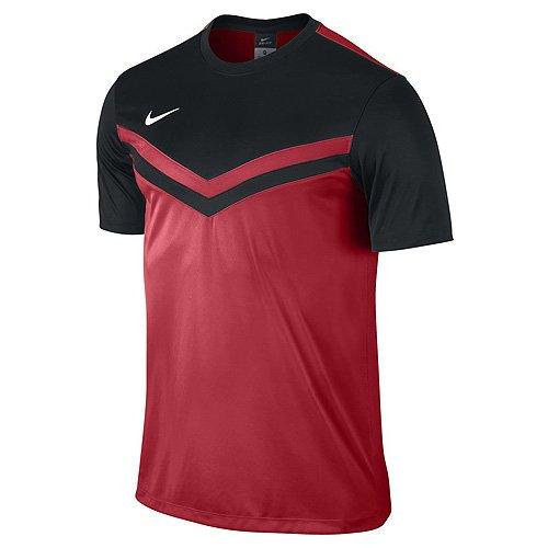 Nike Herren Shirt Kurzarm Top Victory II Jersey, red/black, L, - Trikot Torwart Kurzarm