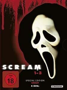 Scream 1 - 3 (Special Edition, 4 Discs, Uncut)