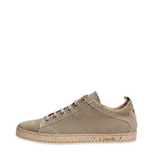 Andrea Morelli E74644 Sneakers Uomo Scamosciato Visone Visone 40