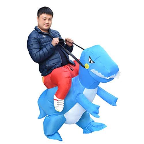Inflatable Dinosa, flatable Dinosaurs, inflatable Dinosaur Costume, Festival Inflatable Dinosaur Kleidung Mount Mount Walking Cartoon Puppe Erwachsene Tyrannosaurus Show Erwachsene Orange Dinosaurier,