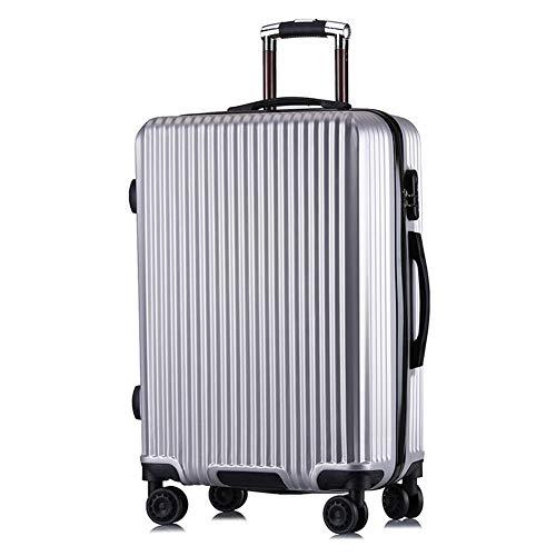 GUOQP Maleta Con Portaequipajes, Estuche RIGIDO, maleta Ligera, maleta maleta De 24 Pulgadas Caja De bloqueo De Equipaje De Embarque De 20 Pulgadas-1-24