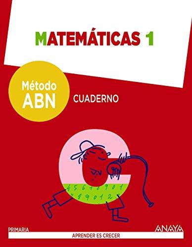 Matemáticas 1. Método ABN. Cuaderno.