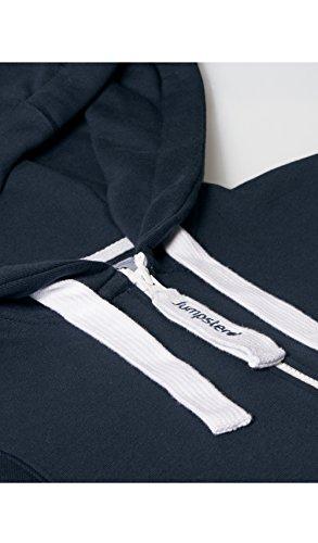 Jumpster Herren und Damen Jumpsuit Kurzer Overall Short Regular Fit Blau S - 6