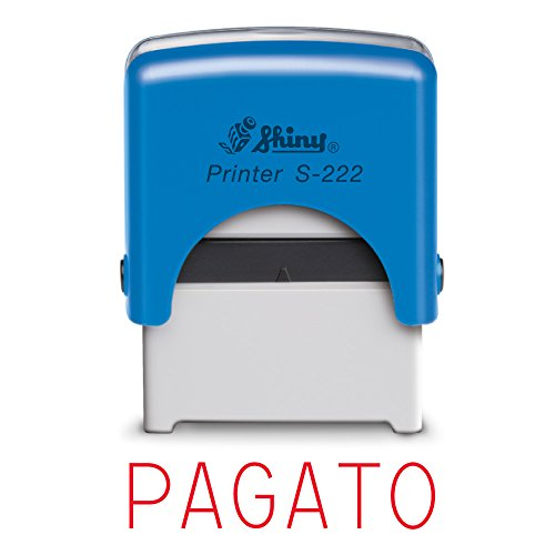 Timbro shiny printer - timbro autoinchiostrante,s-222 (pagato)