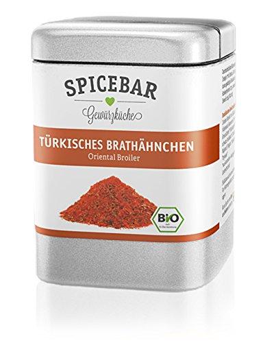 Spicebar Oriental Broiler, Türkisches Brathähnchen, Hähnchengewürz, Bio (1x60g)