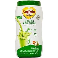 Saffola Active Slimming Nutri-Shake, Pista Badam, 400 gm