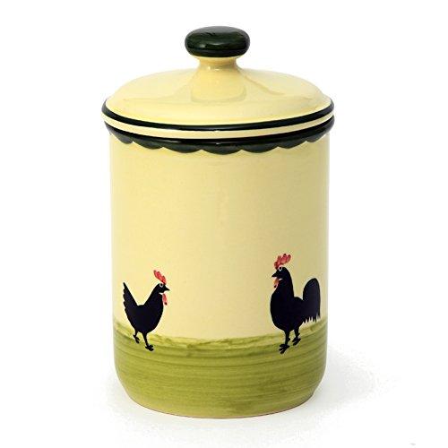 zeller-caraffa-in-ceramica-a-forma-di-gallina-e-gallo