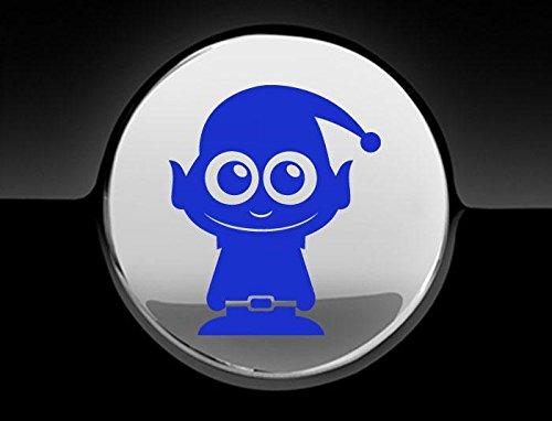 Elf Fuel Cap Abdeckung Auto Aufkleber, blau ()