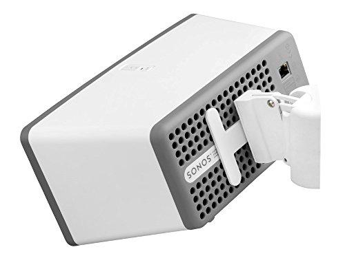 Cavus CMP3W dreh und neigbarbare Wandhalterung für Sonos Play 3 - Weiß - Stück (Sonos Play 3 Wandhalterung)
